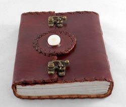 Leather Embossed Journal With Latch