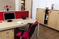 Wooden Office Cabin, Seating Capacity: 3