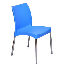Nilkamal Novella 07 SS Chair or Cafeteria chair