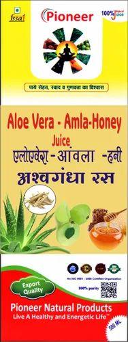 Aloe Vera Amla Honey Ashwagandha Juice 1000 ml