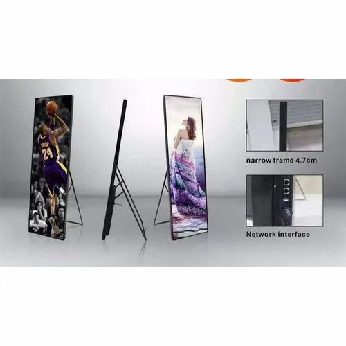 LED Poster Display Standee