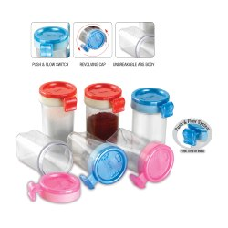 J-231 Salt Pepper Shaker  (12 Pcs 1 Set