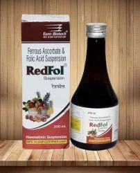 Ferrous Ascorbate 30 mg & Folic Acid 550 mcg per 5 ml per 200 ml Syrup