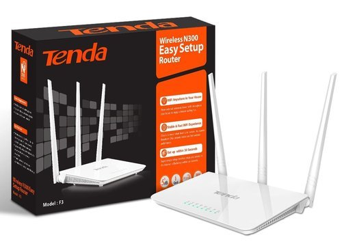 Tenda F3 300mbps Wi Fi Router