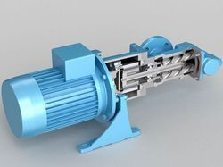 Cast Iron Three Phase Screw Pump, Speed: 180-960 RPM