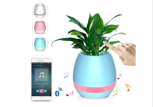 Flower Pots Bluetooth Speaker