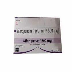 Meropenem 500 mg IP Injection