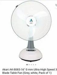 White Rechargeable Akari Ak 8083 16, Ultra High Speed