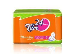 24 Care Regular Maxi Dry Sanitary Napkin