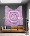 King Mandala Tapestry Wall Hanging