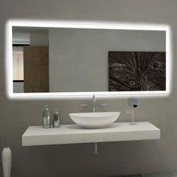 Washroom Backlit Mirror