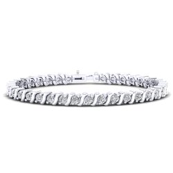 92.5 Wedding Silver Bracelet for Women
