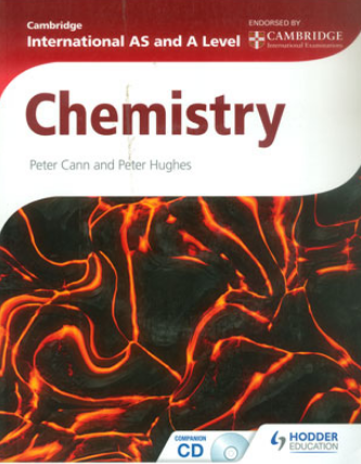 Cambridge International AS And A Level Chemistry Book in