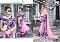 Rachna Georgette Sikha Catalog Saree Set For Woman 8