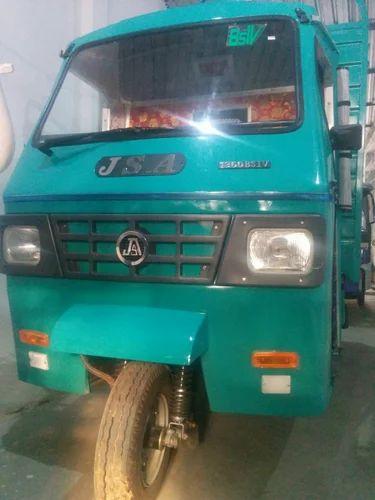 Green jsa 3 wheeler loader diesel rs 290000 piece hanumant green jsa 3 wheeler loader diesel publicscrutiny Images