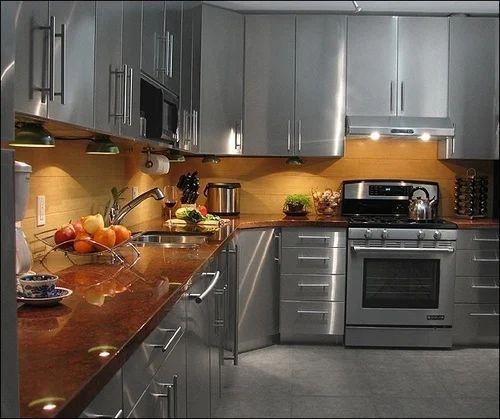 Pvc Esco Metal Modular Kitchen, Warranty: 1-5 Years, In Pune