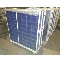 Metalizing Parts Cage Trolley