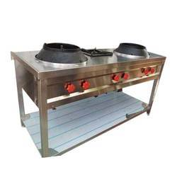 Chinese Food 2 Burner Range