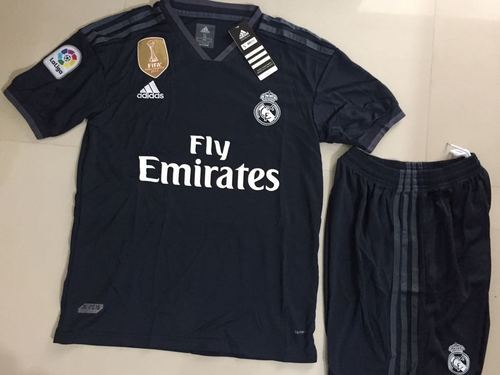 9d784dfc6 Real Madrid Away Kit Jersey With Short 2019 Half Sleeve
