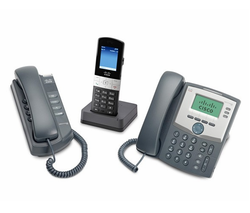 Black, gray Cisco Phones, Spa 504g