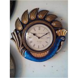 Small Wooden Clock Big Dail Clock