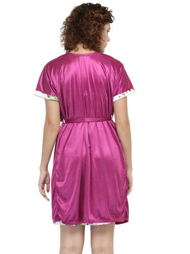 Women Midi Nighty With Robe 13417a123