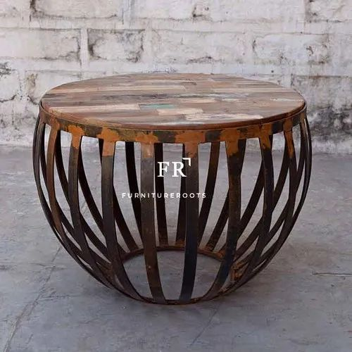 Cafe Furniture Handmade Rustic Coffee Table Bar Furniture Restaurant Furniture