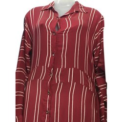 Casual Wear Full Sleeve Ladies Designer Rayon Kurti, Wash Care: Handwash