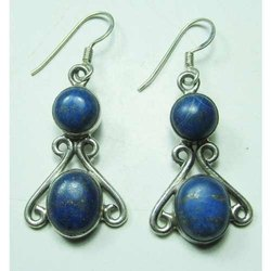 Lapis 925 Sterling Silver Fashion Earrings