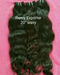 Indian Hair Wavy Machine Weft