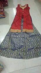 Readymade Masthani Set Fabric Silk