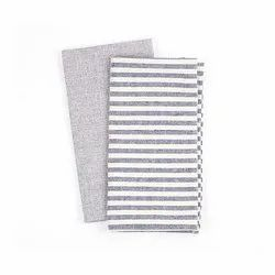 Cotton Napkins Indigo Stripe