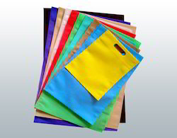 Plain D Cut Non Woven Bag