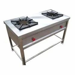 Commercial Two Burner Stove
