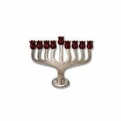 High Quality Menorah Candle Holder