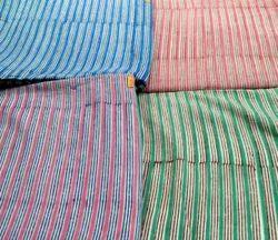 Printed Stripe Block Cotton Fabric