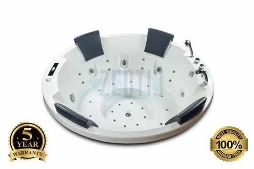 Four Person Round Outdoor Spa Jacuzzi Hot Tub