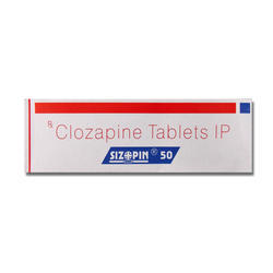 Clozapine Tablets 50 Mg
