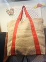 Washed Soft Jute Bag With Handle