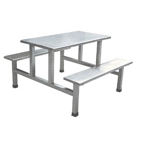 Super Stainless Steel Canteen Tables Bench Type Stainless Steel Ocoug Best Dining Table And Chair Ideas Images Ocougorg