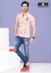 Men's Polo Printed T-Shirts