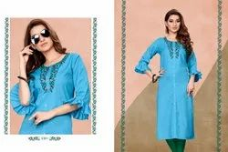 Rachna Grace Delicated Embroidery Work Radiant Catalog Kurti For Women 3