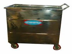 Stainless Steel Washroom Trolley