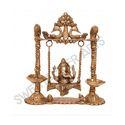 Brass Ganesha Jhula