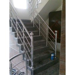 Bar Stairs Stainless Steel Stair Railings, for Office