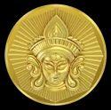 B - Durga Panchdhatu Coin