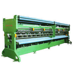 50-60 Hz Mild Steel Raschel Knitting Net Making Machine, Automation Grade: Semi-Automatic, Capacity: 10 Ton Per Month