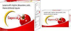 Lycopene with L Arginine Betacarotene Lutein Vitamins and Minerals Capsules