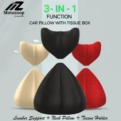 Unisex Foam Motozoop Lumbar cushion, For Back Support, Size: Large