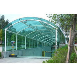 Polycarbonate Shed Installation